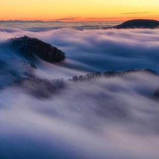 Nebelwelle Baselbiet