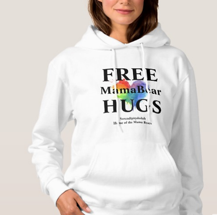 Free Mama Bear Hugs Sweatshirt