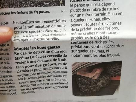 Article FGN11 sur le midi libre Béziers