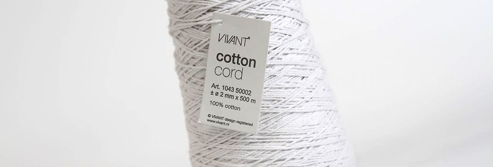 Cotton cord weiss - 500m