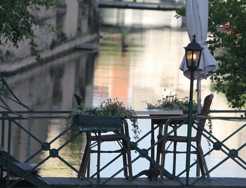 Tête-à-tête auf der Brücke