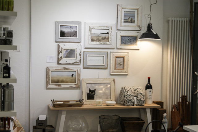 flagship store - vintage wall