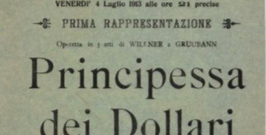 Politeama collection - Principessa dei Dollari (1913) - mint edition