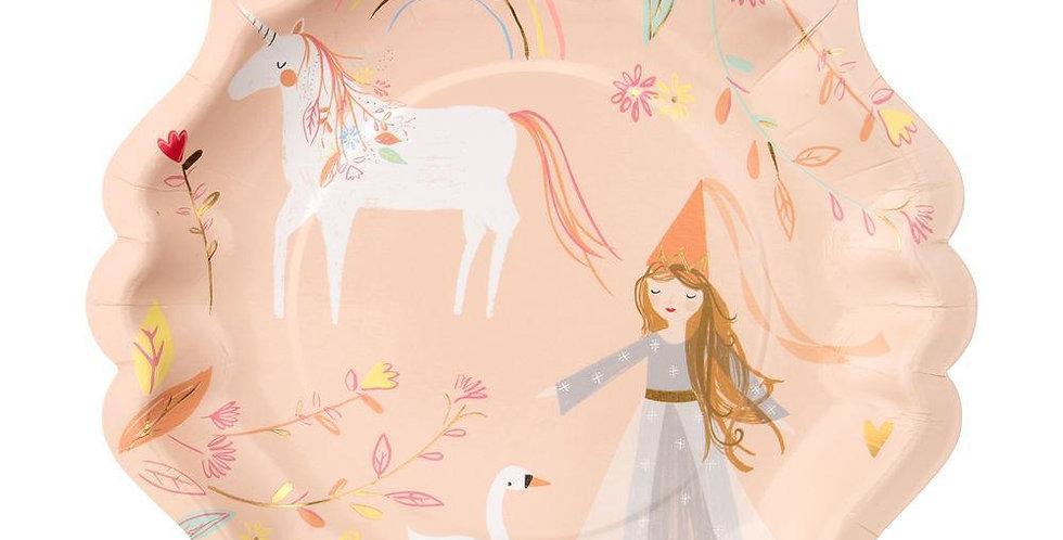 Teller für Magische Prinzessinnen - Meri Meri