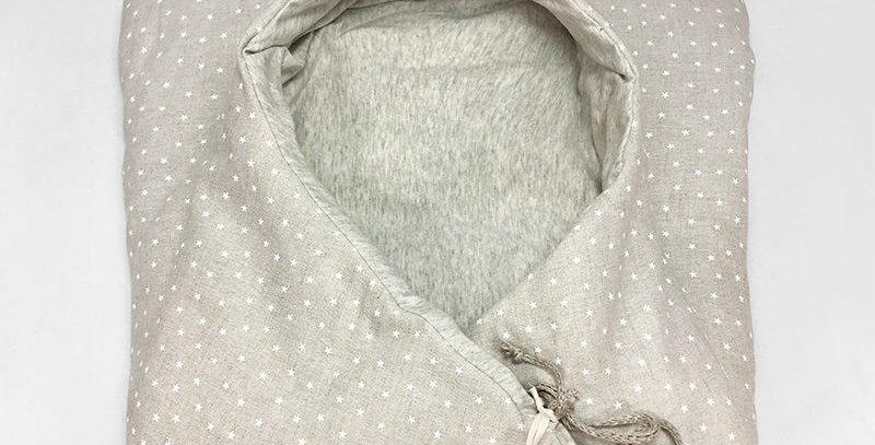 Saco sleeping bag - sandy stars