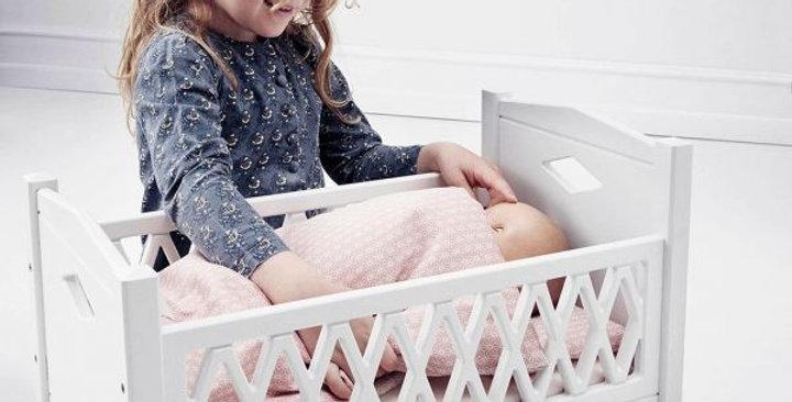 Puppenbett weiss