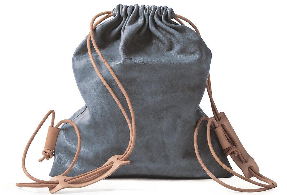 Sports Sleeve Bag (Lammleder) - blau