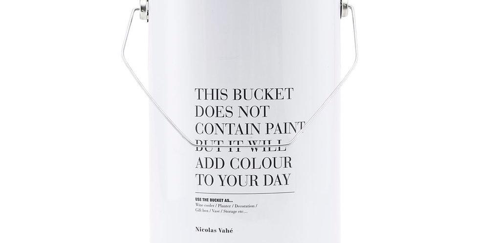 The bucket!
