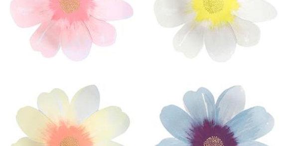 Flower garden Teller (gross) - Meri Meri