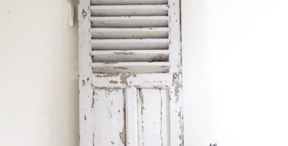 Vintage Fensterflügel aus Mittelfrankreich