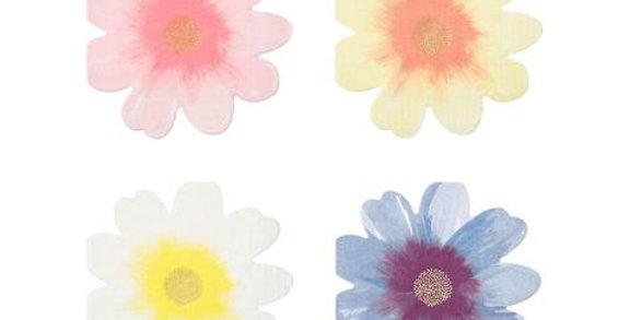 Flower garden Servietten - Meri Meri