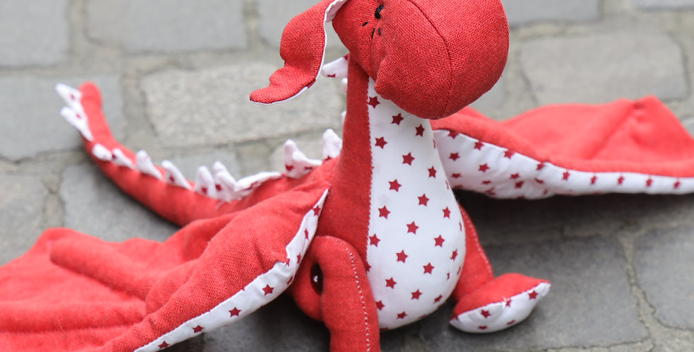 Red little dragon