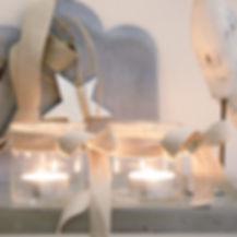 Kerzen und Windlichter