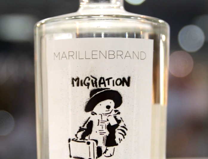 Marillenbrand - Migration is not a crime