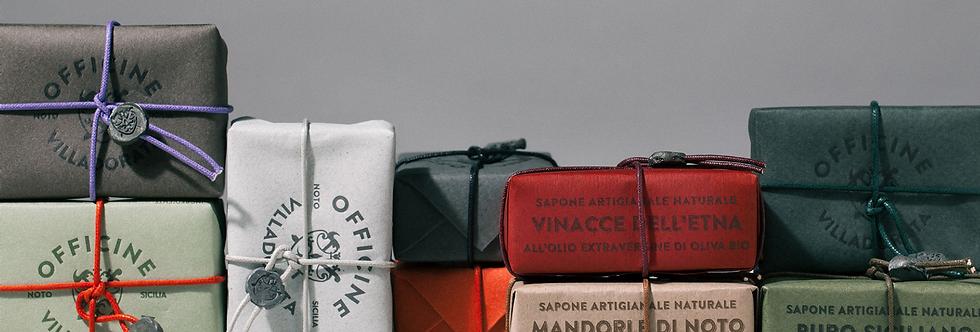 Pomice di Lipari - feinste handgemachte Seife - Officine Villadorata
