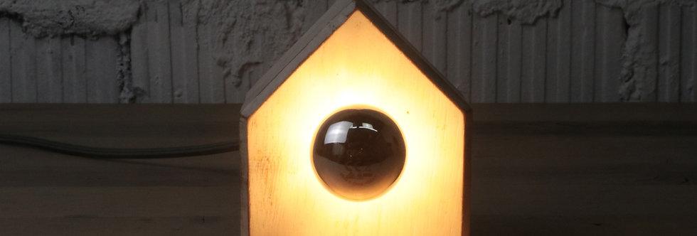 Casetta bianca - Design-Nachttischlampe