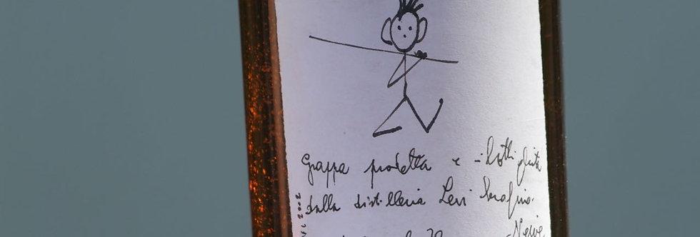 Omino pescatore - Grappa romano Levi (2002)