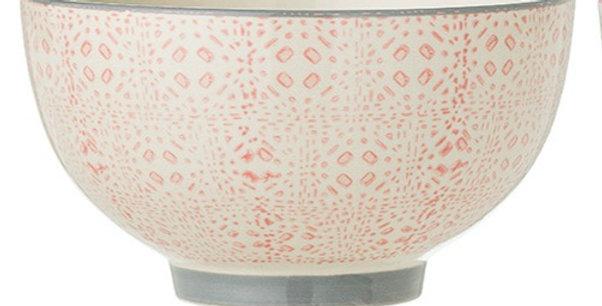 Bowl pink dots