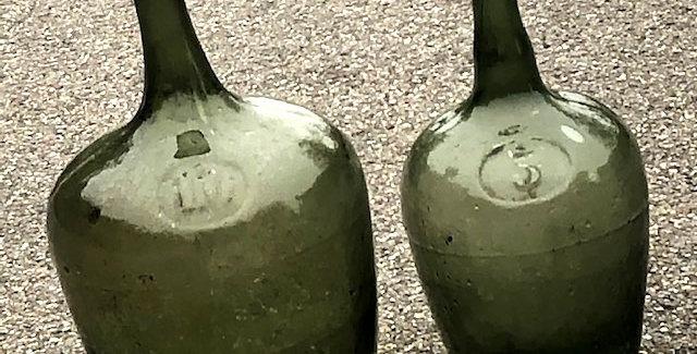 Alte Ölflasche (mittel, 5 L)