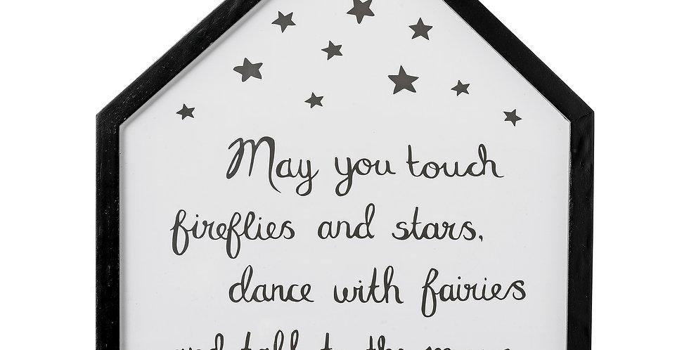 "Aufhänge-Rahmen ""May you touch fireflies"""