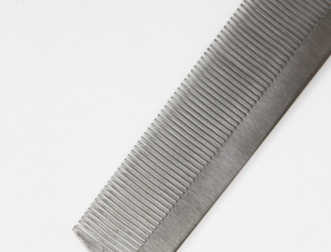 Stainless steel comb
