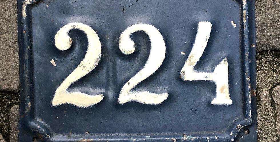 Vintage Nummer 224