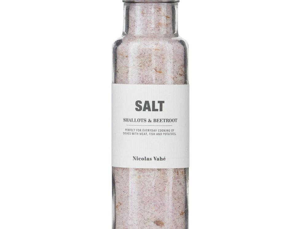 Salz - Shallots & Beetroot (Schalotten und Rote Beete)