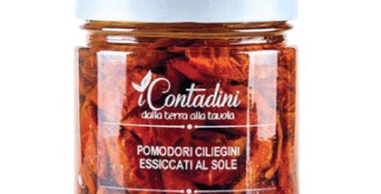 Getrocknete Cherrytomaten - Pomodorini ciliegini in olio d'oliva - i Contadini