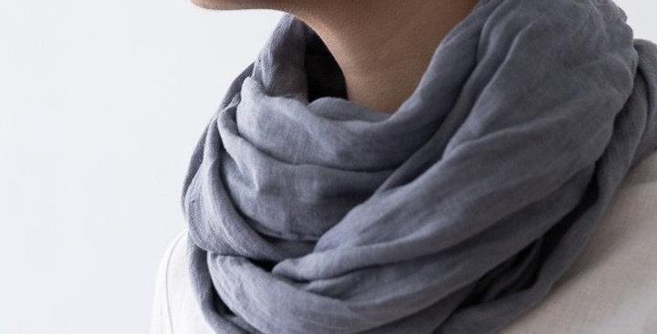 Summer scarf - folkstone grey