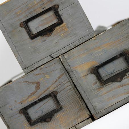 LES 11+1 FRÈRES - Kästchen einer Werkstatt