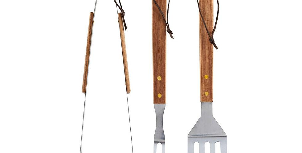 BBQ Tools (Set, 3-teilig)