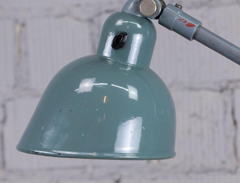 'Siemens Work' - 'glasgrau' - Tischlampe / Architektenlampe