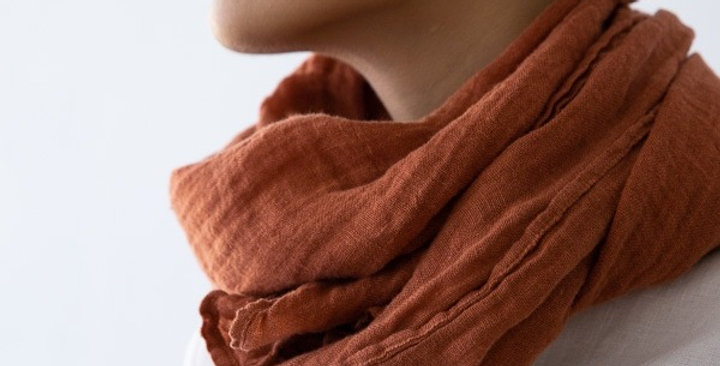 Summer scarf - Brick stone