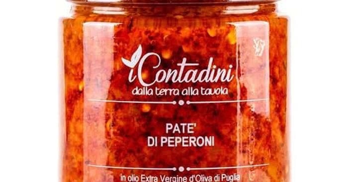 Paté di peperoni in olio d'oliva - i Contadini