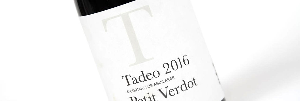 Tadeo Petit Verdot Malaga DO 2016 - Cortijo Los Aguilares