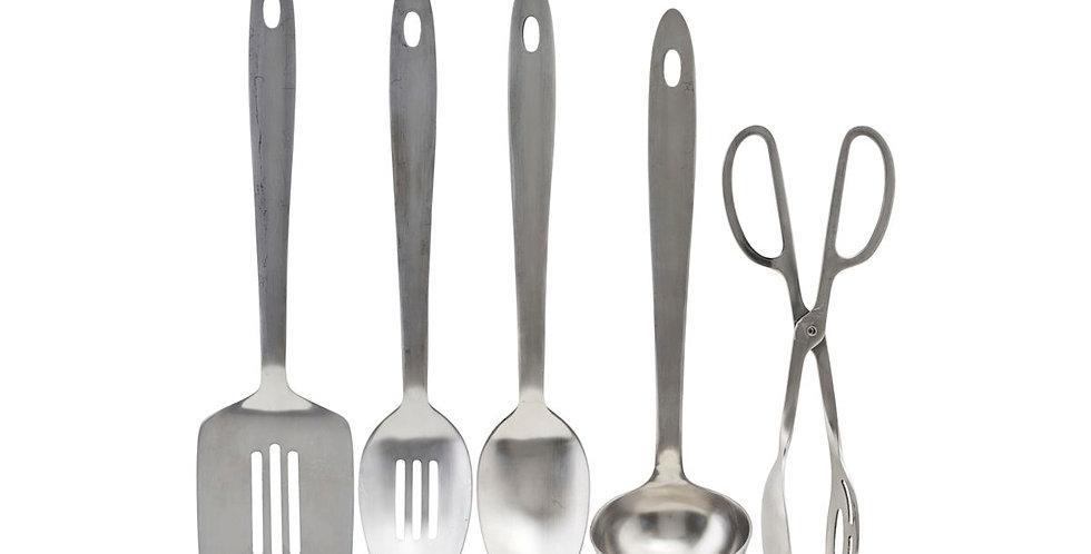Küchentool-Set aus Edelstahl