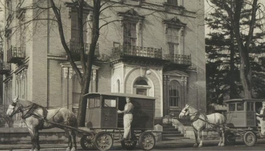 The Hotel Carlyle & Resturant back in the day