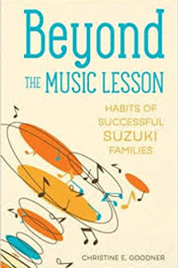 Beyond the Music Lesson - Parent support book