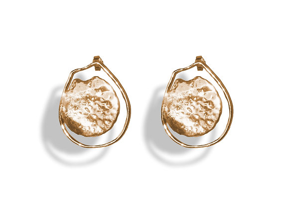 Gold Catcall Earring