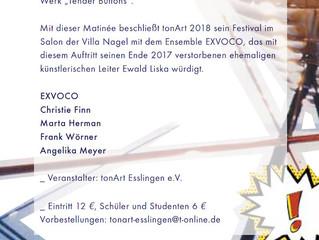tonArt Festival zu Gast in der Villa Nagel