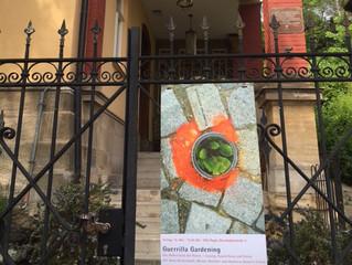 Guerilla Gardening - der Widerstand der Poesie