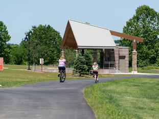 Family Biking at Friedman Park
