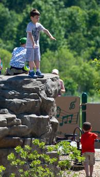 Play Garden Rock Wall Friedman Park