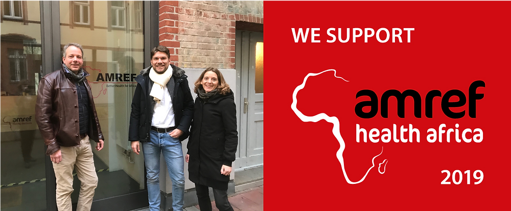 Sharkbite to support Amref Germany in social business program