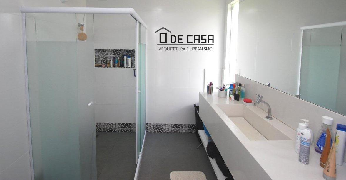 BANHEIRO CASAL - PROJETO CASA COBOGÓ - ALPHAVILLE LITORAL NORTE I