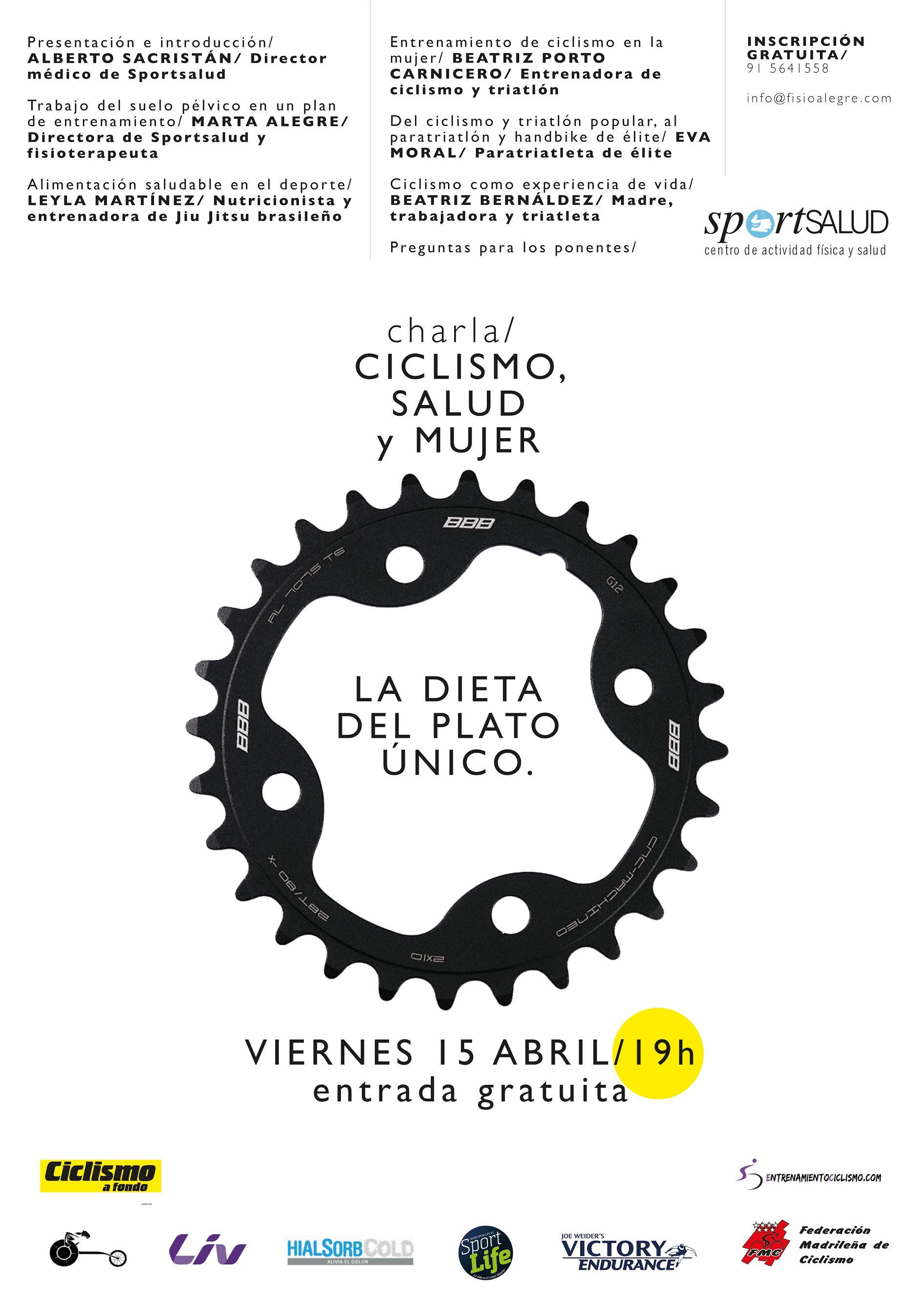 Ciclismo Mujer y Salud.