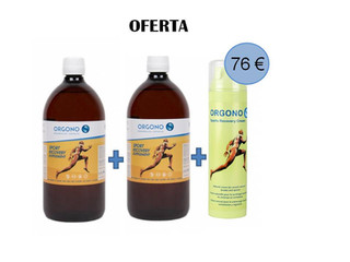 Orgono Sport Recovery vía oral y en crema, el complemento ideal para prevenir lesiones en el deportista