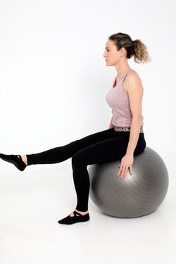 Marta Alegre pilates suelo, fitball prosperidad viso chamartin
