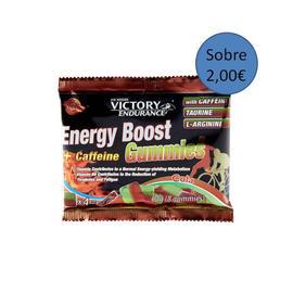 Energy Boost Gummies + cafeína