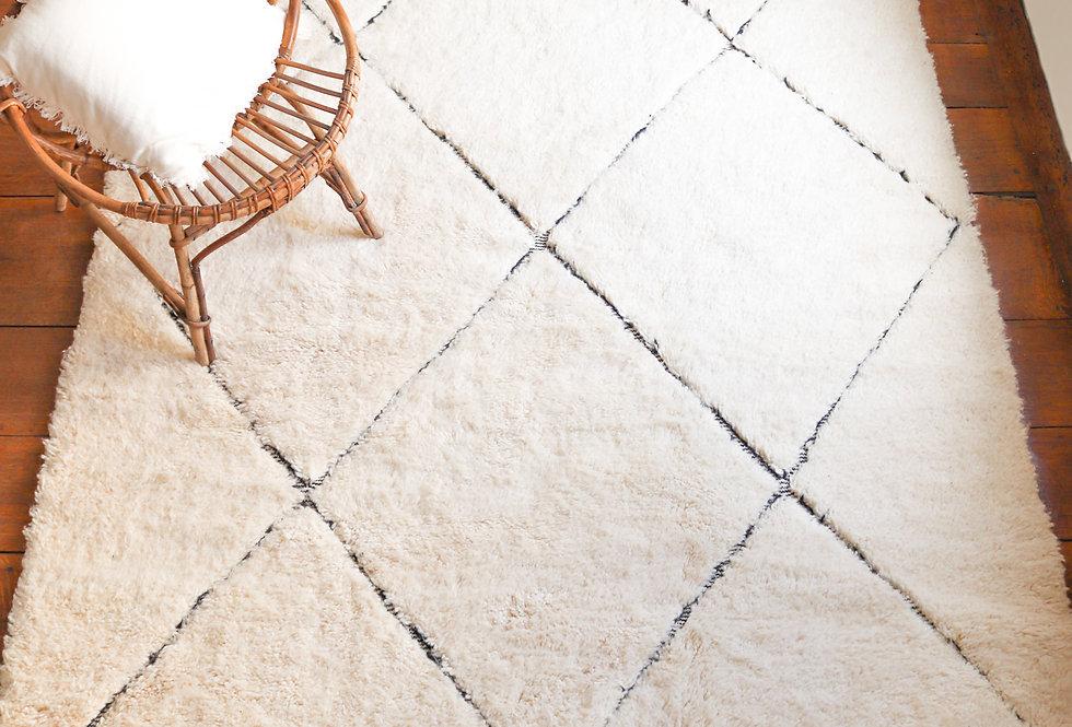 CHILA - Beni Ouarain Berber rug 175x250cm